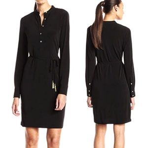 Calvin Klein✨PERFECT BASIC Long Sleeve Shirt Dress